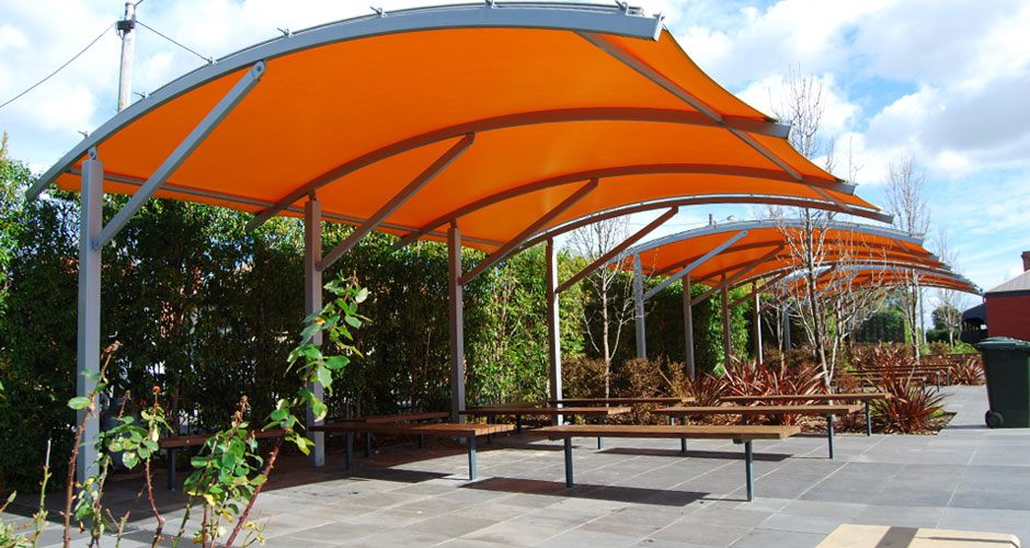 Commercial 1 – shade structure