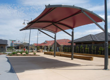 Caesia Gardens Aged Care - Outdoor Areas - Shade Structures