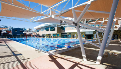 Sports Courts and Pools