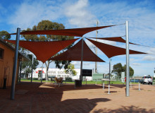 Northern College of Technology - Outdoor Areas - Shade Sails
